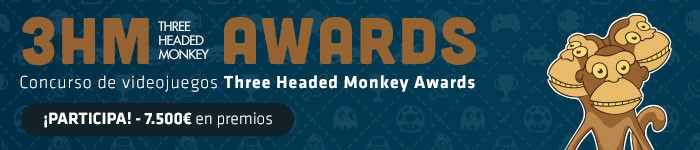 Participa en el concurso de videojuegos Three Headed Monkey Awards de la UPC School.    ¡7.500€ en premios!